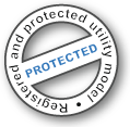 registered and protected utility model